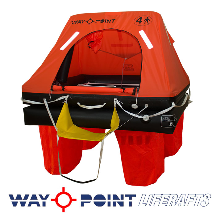 NEW FOR 2014 ISO 9650-1 COMMERCIAL LIFERAFT
